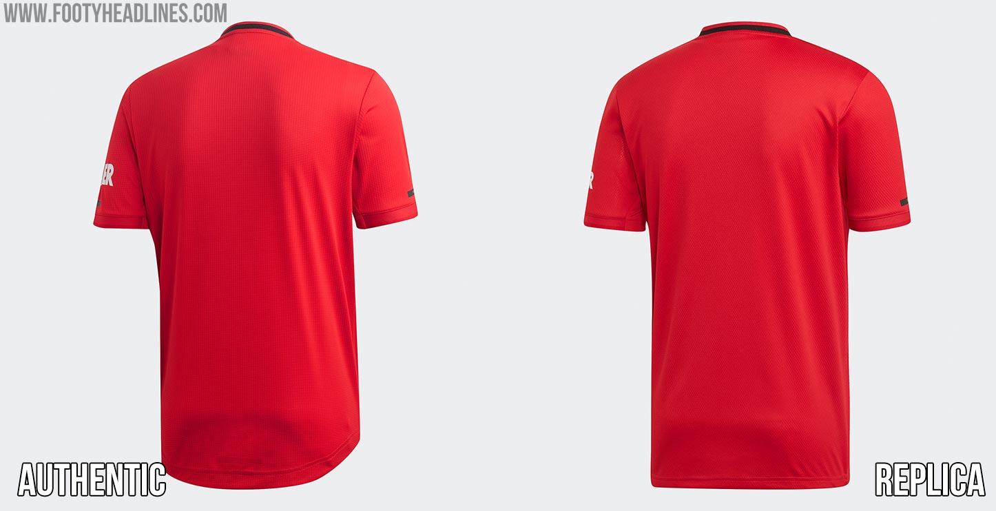 e228e9925 Replica Looks Cheap... Adidas Manchester United 19-20 Home Kit ...