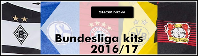 Kumpulan Jersey Terbaru Liga Jerman (Bundesliga) Musim 2017