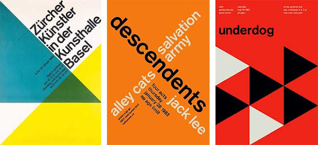 Swiss International Style Graphic Design