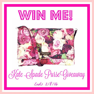 Enter the Choose Your Kate Spade Giveaway. Ends 2/8