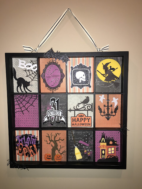 Nevermore Halloween Display Tray