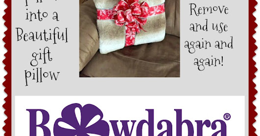How to make a pillow look like a beautiful gift pillow