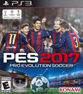 Capa do jogo Pro Evolution Soccer 2017 (PES 2017) PS3