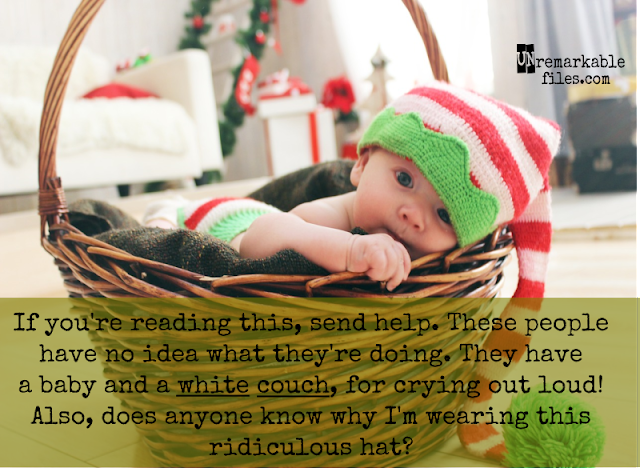 Laugh along with these holiday-themed funny stock photo memes. The hilarious captions and funny pictures capture the ridiculousness that is life with kids during the holidays. #funny #stockphotos #lifewithkids #parentinghumor #funnypictures