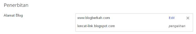Cara Mengalihkan/Redirect Domain Url Blog Lama Ke Blog Baru
