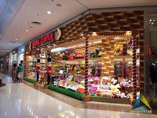 projeto arquitetura loja brinquedos