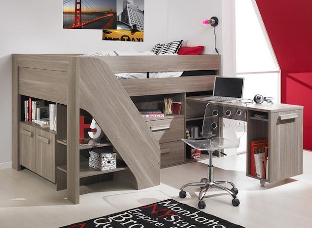 Cấu trúc giường ngủ tiện dụng phù hợp với mọi không gian