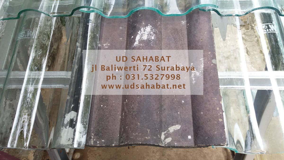 jual atap genteng kaca ud sahabat surabaya ready stock