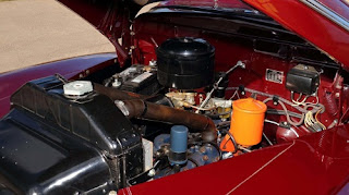 1946 Ford Super Deluxe Station Wagon Engine