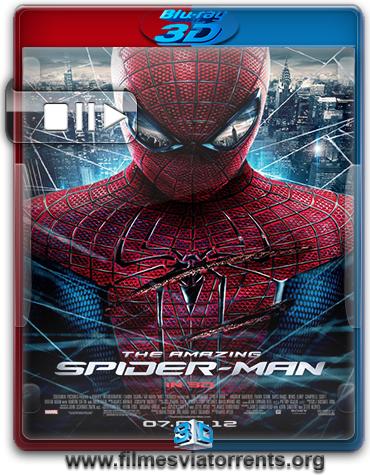 O Espetacular Homem-Aranha Torrent - BluRay Rip 1080p 3D HSBS Dual Áudio 5.1 (2012)