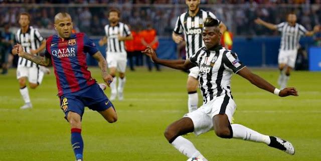 Paul Pogba lors de la dernière finale de la Ligue des Champions, face au FC Barcelone.