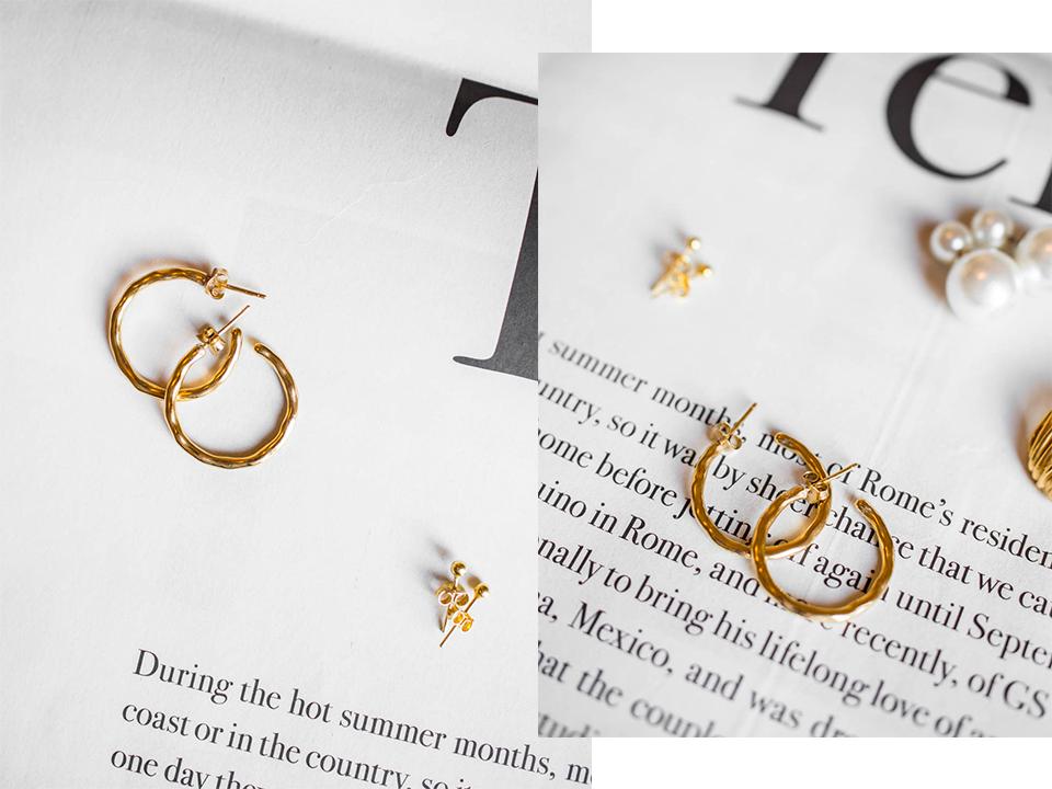 Dainty jewellery, earrings - Sirot korut, korvakorut