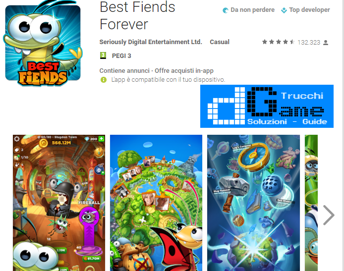 Trucchi Best Fiends Forever Mod Apk Android  v2.4.1