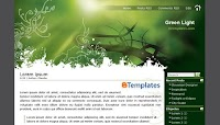 Green Light Blogger Template