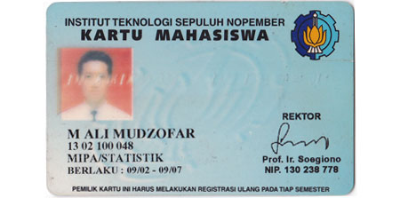 Kartu Mahasiswa Statistika