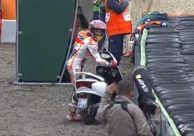 Marquez Tuntaskan Kualifikasi dengan Skuter Curian