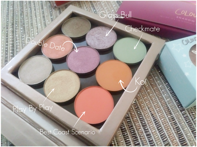 Colourpop Pressed Shadow Singles