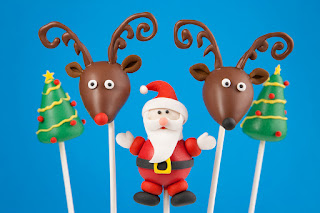 Reindeer Cake Pops With Pipe Cleaners