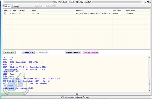 UFS Panel 2.3.0.9 [UFS HWK & UFST]