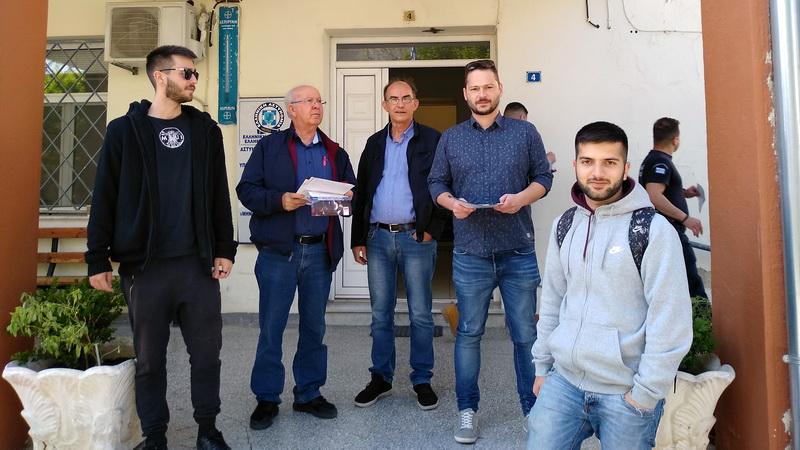 Ορεστιάδα: Περιοδεία της Λαϊκής Συσπείρωσης σε Αστυνομία και Πυροσβεστική