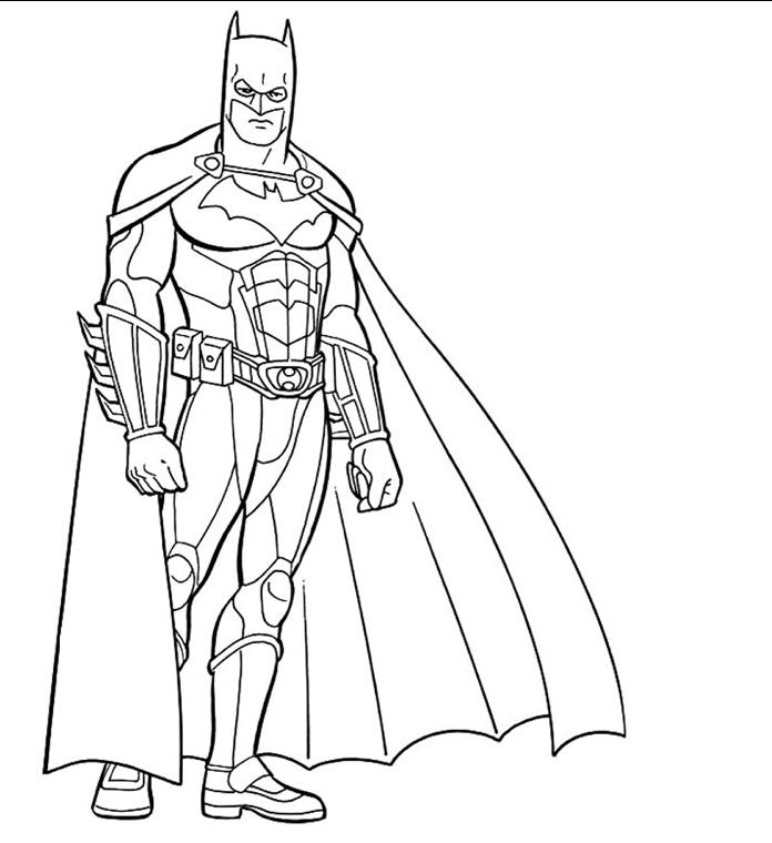 10 Mewarnai Gambar Batman Pemandangan Kartun Masjid Mobil Belajar