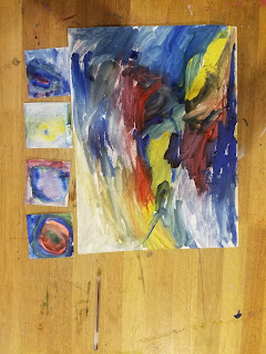 de kooning art project for kids