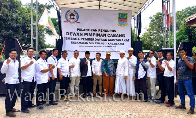 Pelantikan Pengurus DPC LPM Kecamatan Sukawangi Berlangsung Sukses