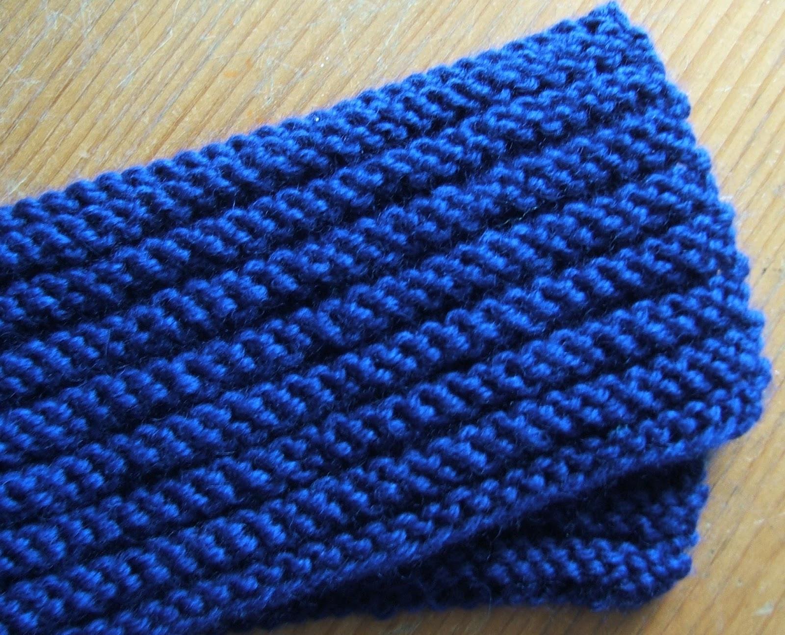 Aussie Knitting Threads Horizontal Scarf Variation