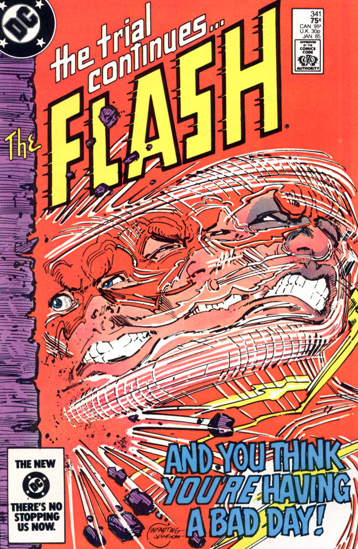 The Flash (1959) issue 341 - Page 1