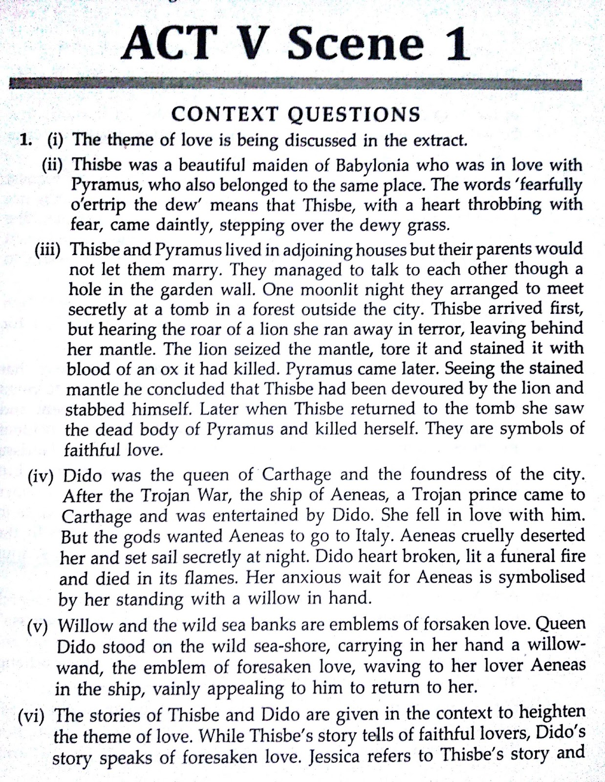 merchant of venice questions and answers icse