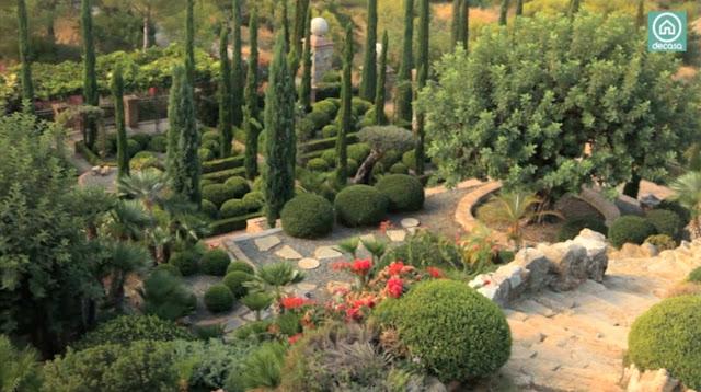 Jardines del alc zar de sevilla parte ii paisaje libre for Jardines de soraya