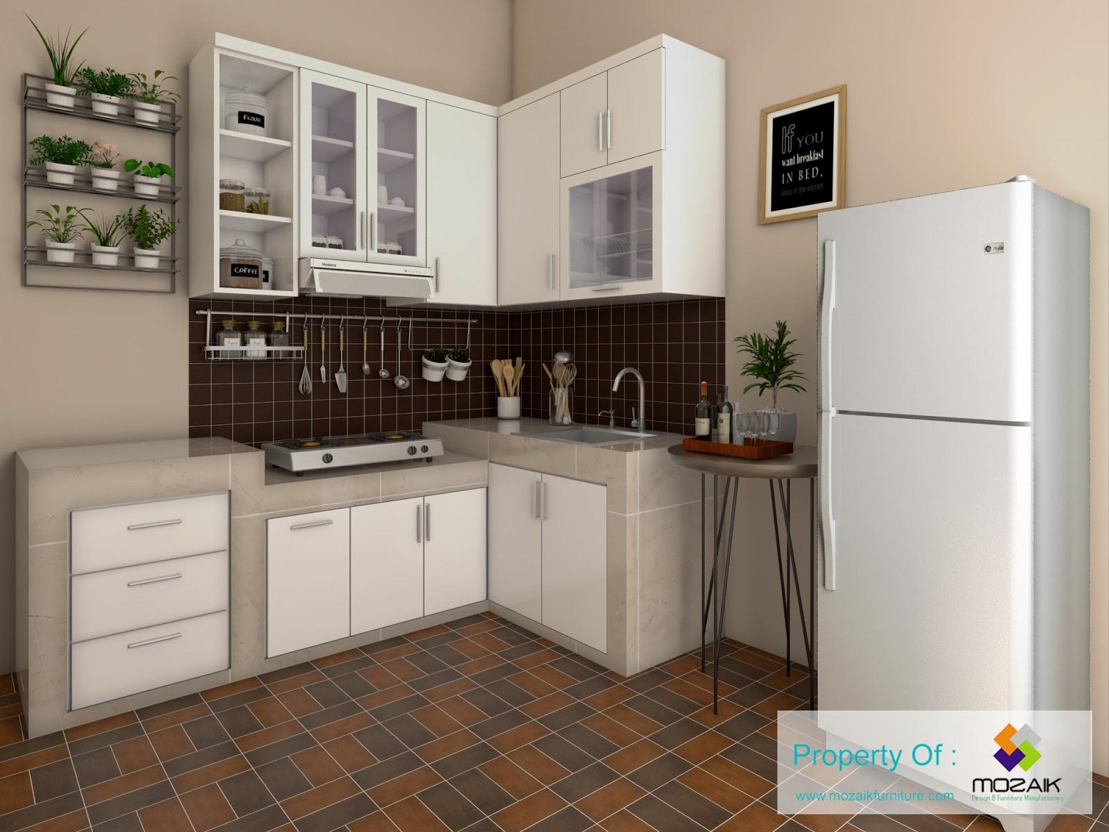 Kitchen Set Modern Minimalist Jakarta