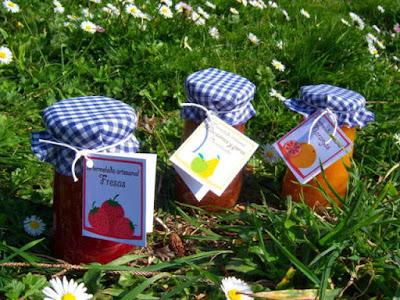 Ideas para preparar mermeladas para regalo con las etiquetas anteriores