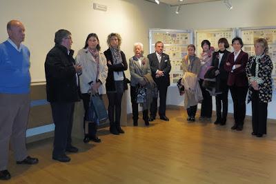 Inauguración de la Exposición filatélica de Ribadesella