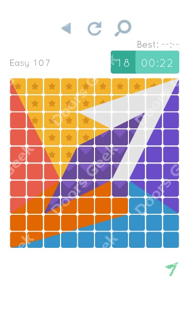 Cheats, Walkthrough for Blocks and Shapes Level 107