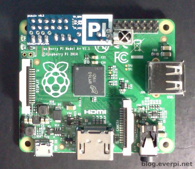 raspberry pi b+ e pizula v0.2