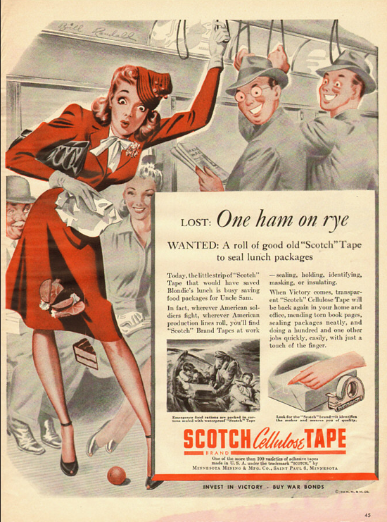 Scotch advertising 1944
