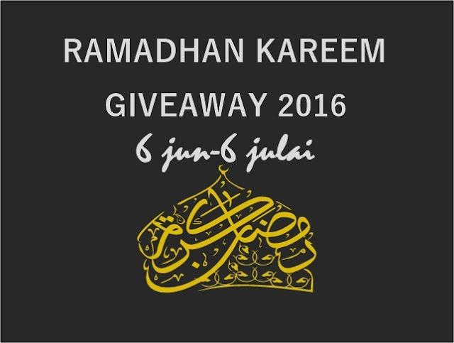 http://wawaabdulhadi.blogspot.my/2016/06/ramadhan-kareem-giveaway-2016.html
