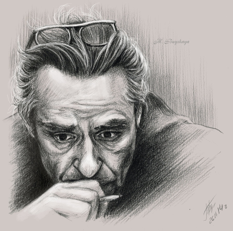 08-Philosopher-Ilyenkov-Tatyana-Buyskaya-Duh22-Pencil-and-Charcoal-Portrait-Drawings-www-designstack-co