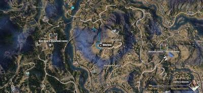 Far Cry 5, Shrines Locations, Faith's Region, Angel's Peak, Shrine # 2