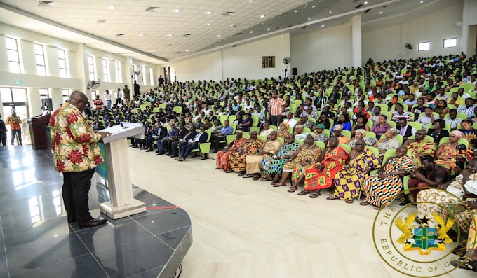 """Creation Of New Regions Not For Votes"" – President Akufo-Addo"
