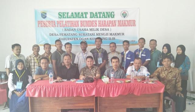 Desa Pematang Sukatani Gelar Pelatihan BUMDes