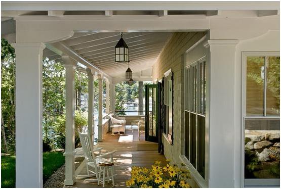 Fotos de techos porches - Porches de casas ...