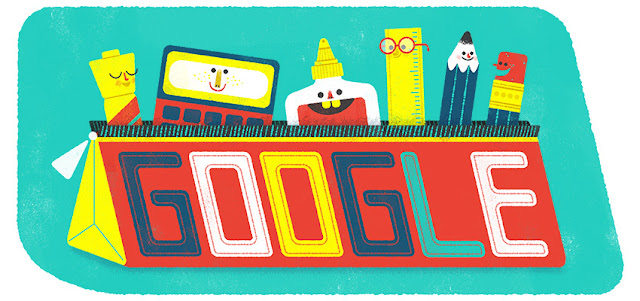 First Day of School 2016 - Google Doodle