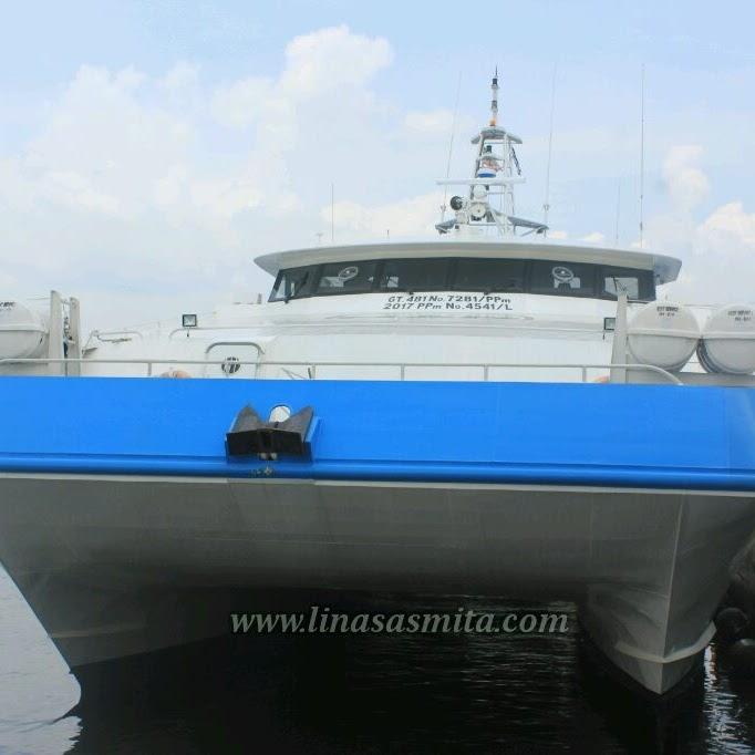 Peresmian Kapal Ferry Penyebrangan Terbesar Batam Johor