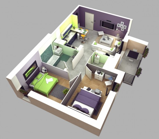 kumpulan sketsa rumah minimalis model sederhana terbaru 2016