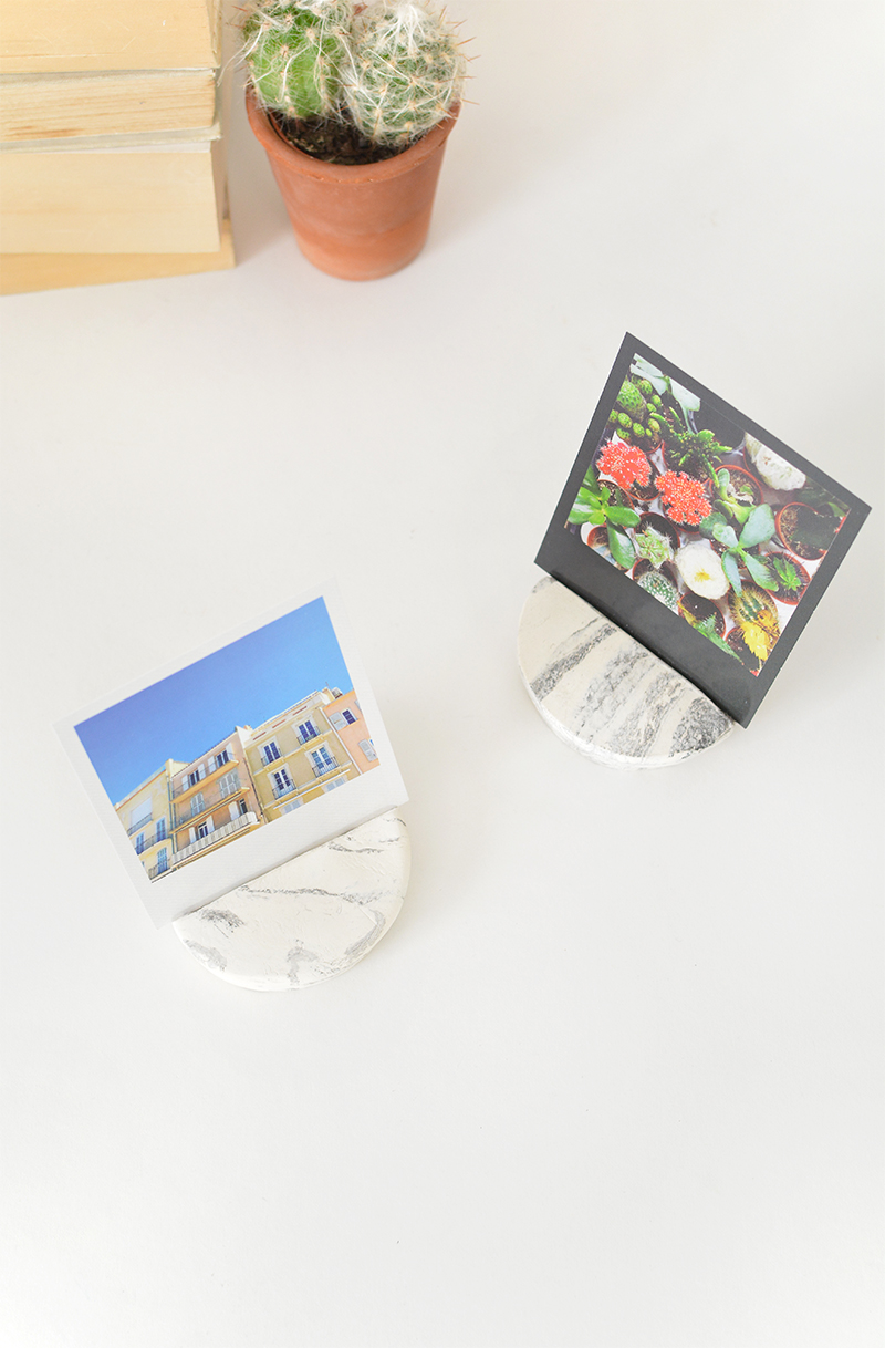 marbled clay photo block