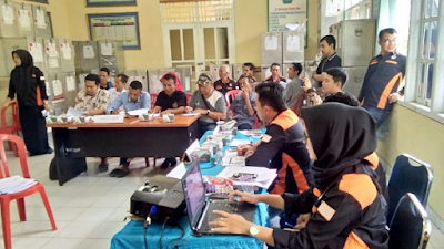 PPK Kecamatan Sukabumi Laksanakan Rekapitulasi Hasil Perhitungan Pilgub Lampung 2018