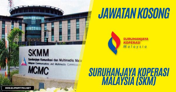 jawatan kosong Suruhanjaya Koperasi Malaysia (SKM) 2019