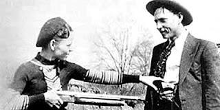 Pasangan keskasih paling jahat Bonnie Parker - Clyde Barrow
